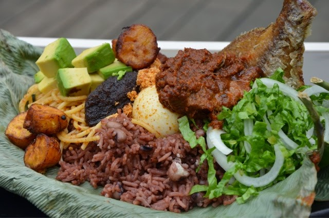 waakye in leaf